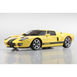 Coche MINIZ MR-2MF FORD GT amarillo