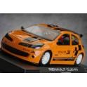 Coche Renault Clio Rally Presentación