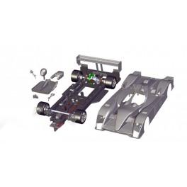 LMP10 completo - sin motor - lexan y nylon