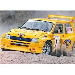 Coche MgMetro6R4rallycanarias1991