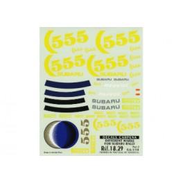 """CalcaCRP1/18Logossubaru""""B"""""""