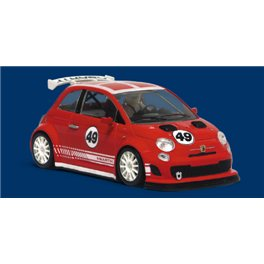 ABARTH 500 Assetto Corse Presentation red        SW Shark 20K