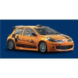 RENAULT CLIO RALLY  TRIANGOLAR  AW KING EVO3 21K Presentation Orange