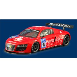 """AUDI R8 LMS  PLAYSTATION #97 """"red""""            AW King EVO3!"""