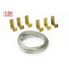 Trencilla extrafina con clips