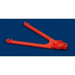 Brazo guia Pro Arm 64 mm extra duro rojo