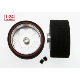 Rueda esp.25.5X13mm eje3mm llanta 21mm