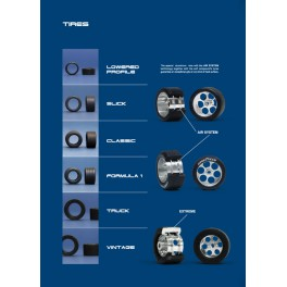 Neumático delantero p/camión 18x8