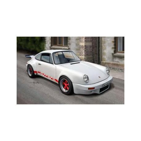 Maqueta Porsche Carrera RS 1/25