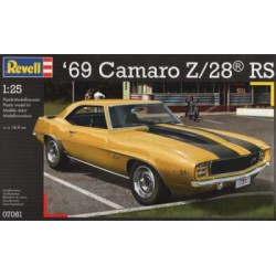 Maqueta Camaro Z/28 RS 1:24