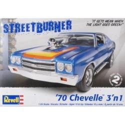 Maqueta Chevelle 1970 1:24