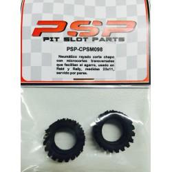 Neumático de goma corte chapo 23x11
