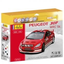 Maqueta Peugeot 307 WRC 1:24