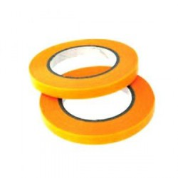 Cinta enmascarar naranja 18x50 mm