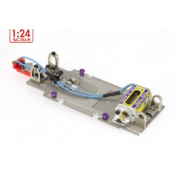Chasis metálico 1:24 Rally completo