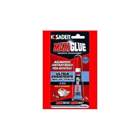 Adhesivo Maxiglue Ciano Gel 3gr.