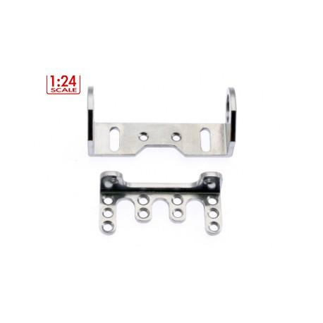 Soporte eje trasero regulable aluminio
