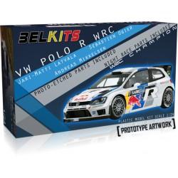 Carroceria Volkswagen Polo WRC 1:24