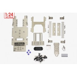 Chasis metálico en kit 1:24