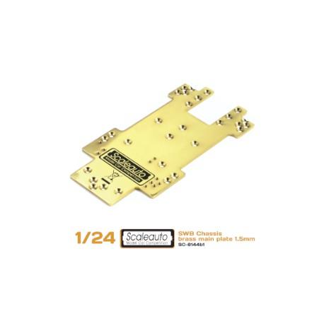 CentralchasisSC-8001 SWB en latón 1,5mm