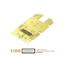 CentralchasisSC-8002 LWB en latón 1,5mm