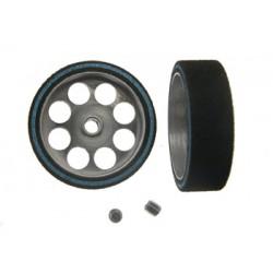 Rueda espuma 25,2x21x8 eje 3 mm Hardcomp