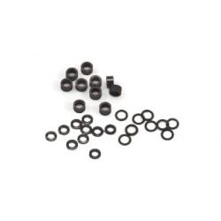 Separadores de plástico variados para eje 2,38 mm