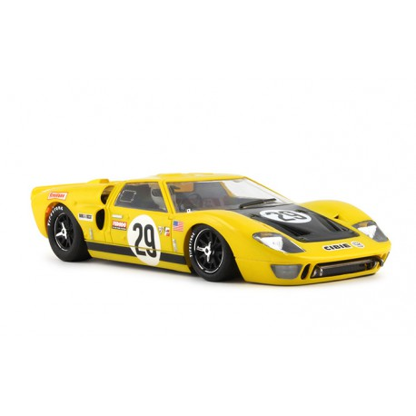 Coche Ford GT40 dorsal 3 Le Mans 1966