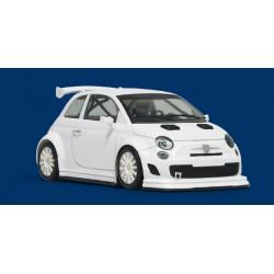 Coche ABARTH 500 Assetto Corse kit Blanco