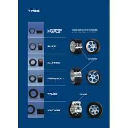 Neumático trasero Slick 19x10 supergrip
