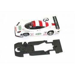 Chasis plastico 3D SCX Mercedes DTM