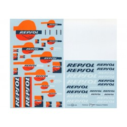Calca Virages Repsol fluo 1:24