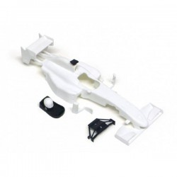 Carroceria F1 All Slot Cars en kit blanca