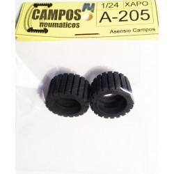 Neumático Raid chapo perfil medio 1/24