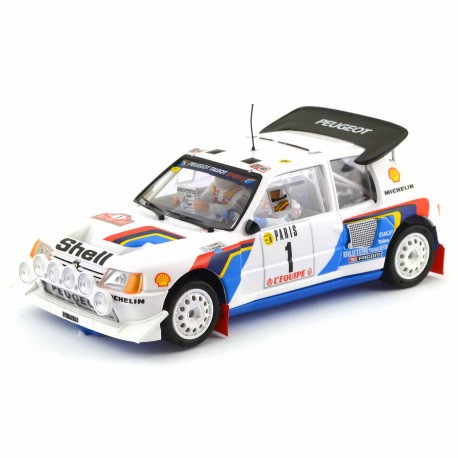 Peugeot 205 T16 Evo2 Rally Montecarlo '86 nº1 Salonen