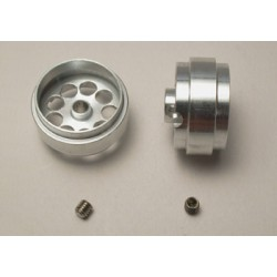 Llanta aluminio 19.5x10.2mm eje 3mm.