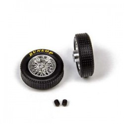 Llantas de radios classic + Neumáticos Dunlop