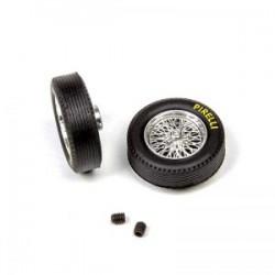 Llantas de radios classic + Neumáticos Pirelli