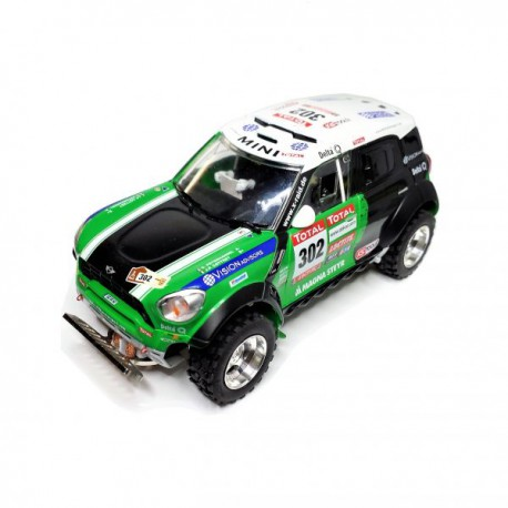 Mini All4 Racing Dakar 2012 Peterhansel nº302 BASIC