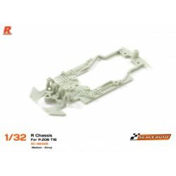 Chasis R para P.208 T16 Gris - Dureza Media