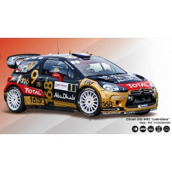 Citroen DS3 WRC nº1 Loeb-Elena