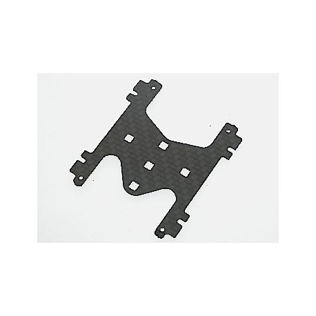 Soporte Central H Pro 1mm. carbono