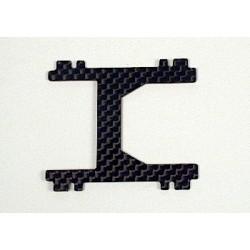 Soporte central H 1 mm carbono
