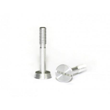 Kit tornillo aluminio para suspensión cabeza ancha