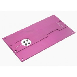 Placa medicion altura 1.3/1.5mm aluminio