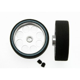 Rueda espuma 25,5x21x8 eje 3 mm Hardcomp