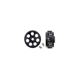 Llanta aluminio 16.9x8 Monza negro