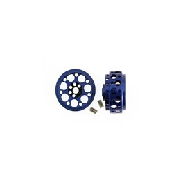 Llanta aluminio 16.9x8 Imola azul